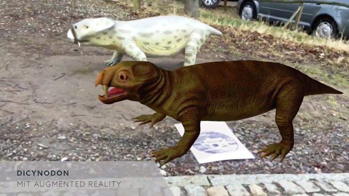 Saurian in Augmented Reality