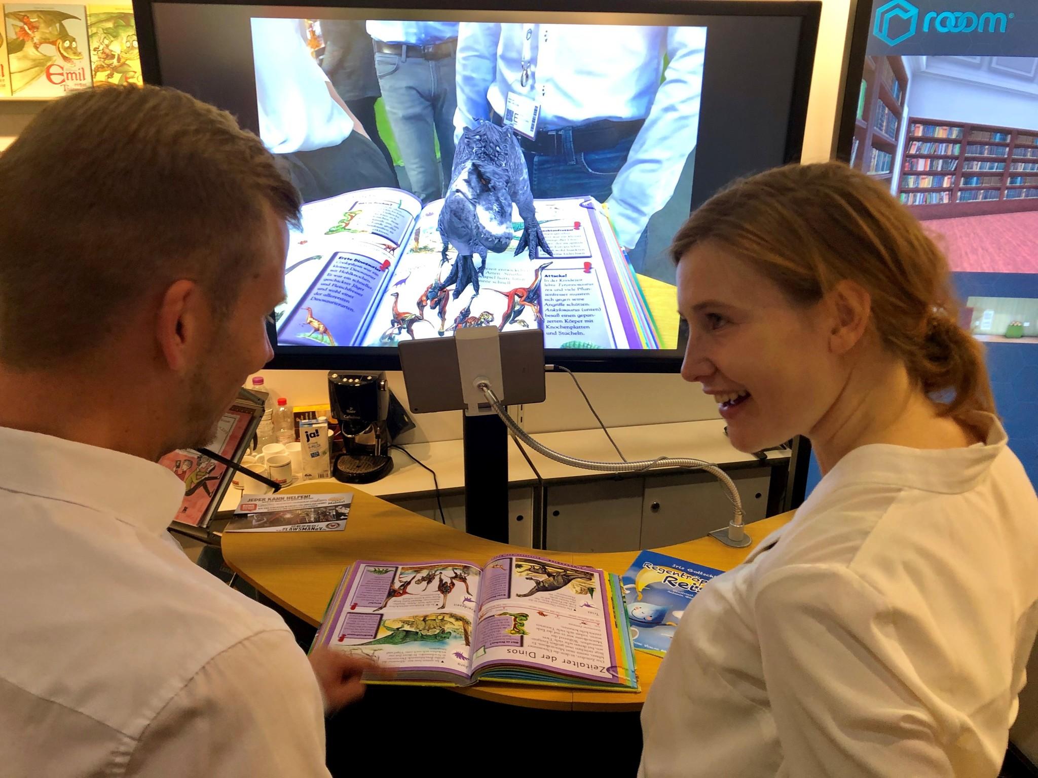 rooom presents 3D content for children's books at Frankfurter Buchmesse 2019