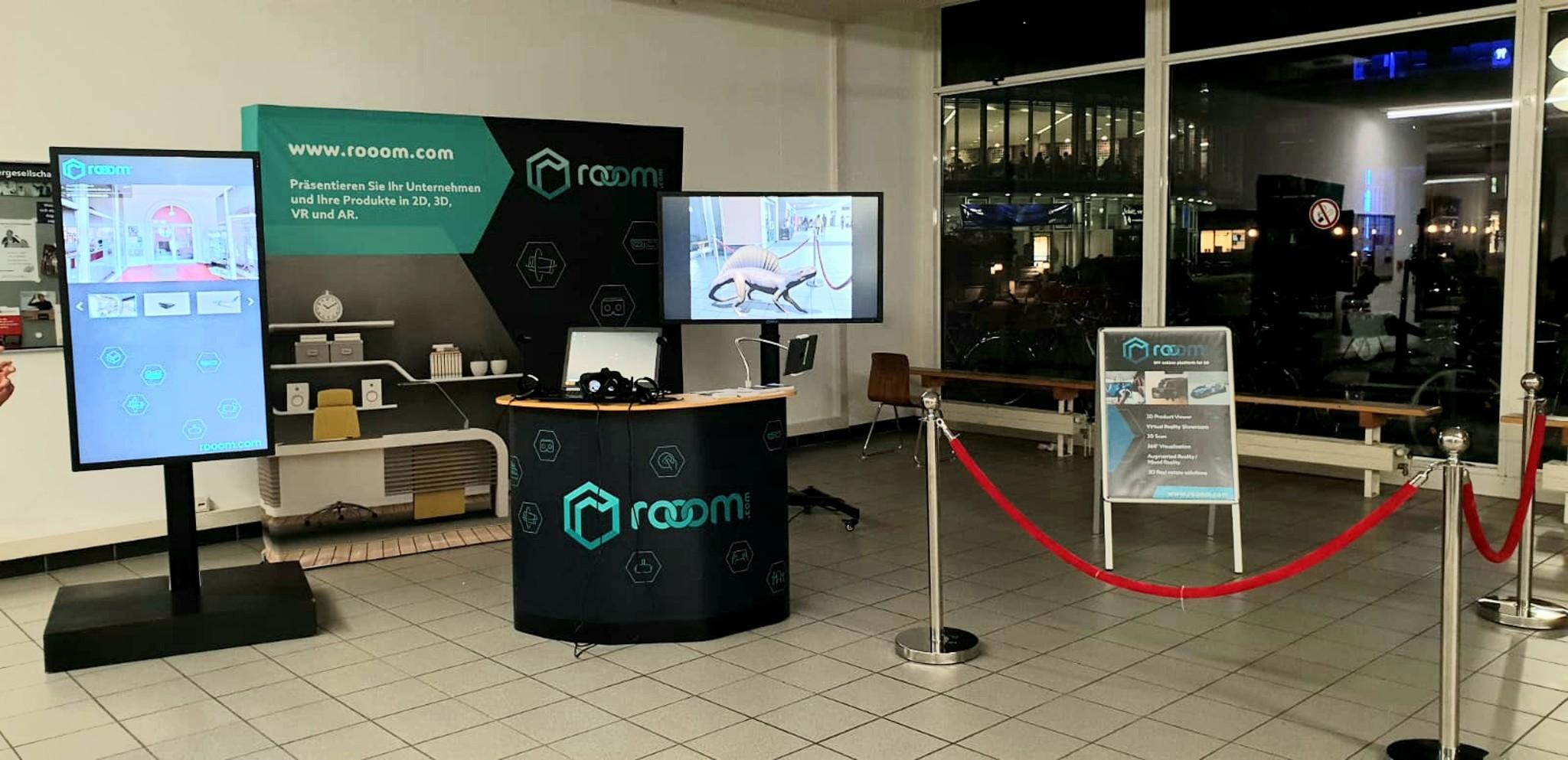 rooom presented 3D technology at the Lange Nacht der Wissenschaften