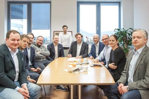 Besprechung der IT-Steuergruppe zur Planung und Vorbereitung des Digital-Gipfels 2020 in Jena