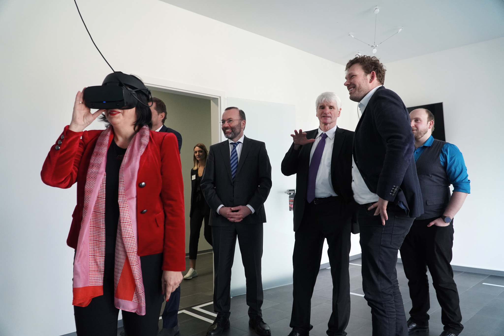 Test der Virtual Reality Lounge