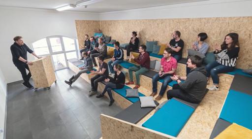 Bild des neuen Büros