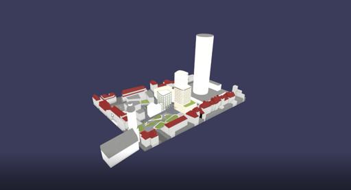 3D Modell Eichplatz