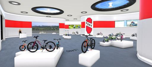 Virtueller Showroom von Puky