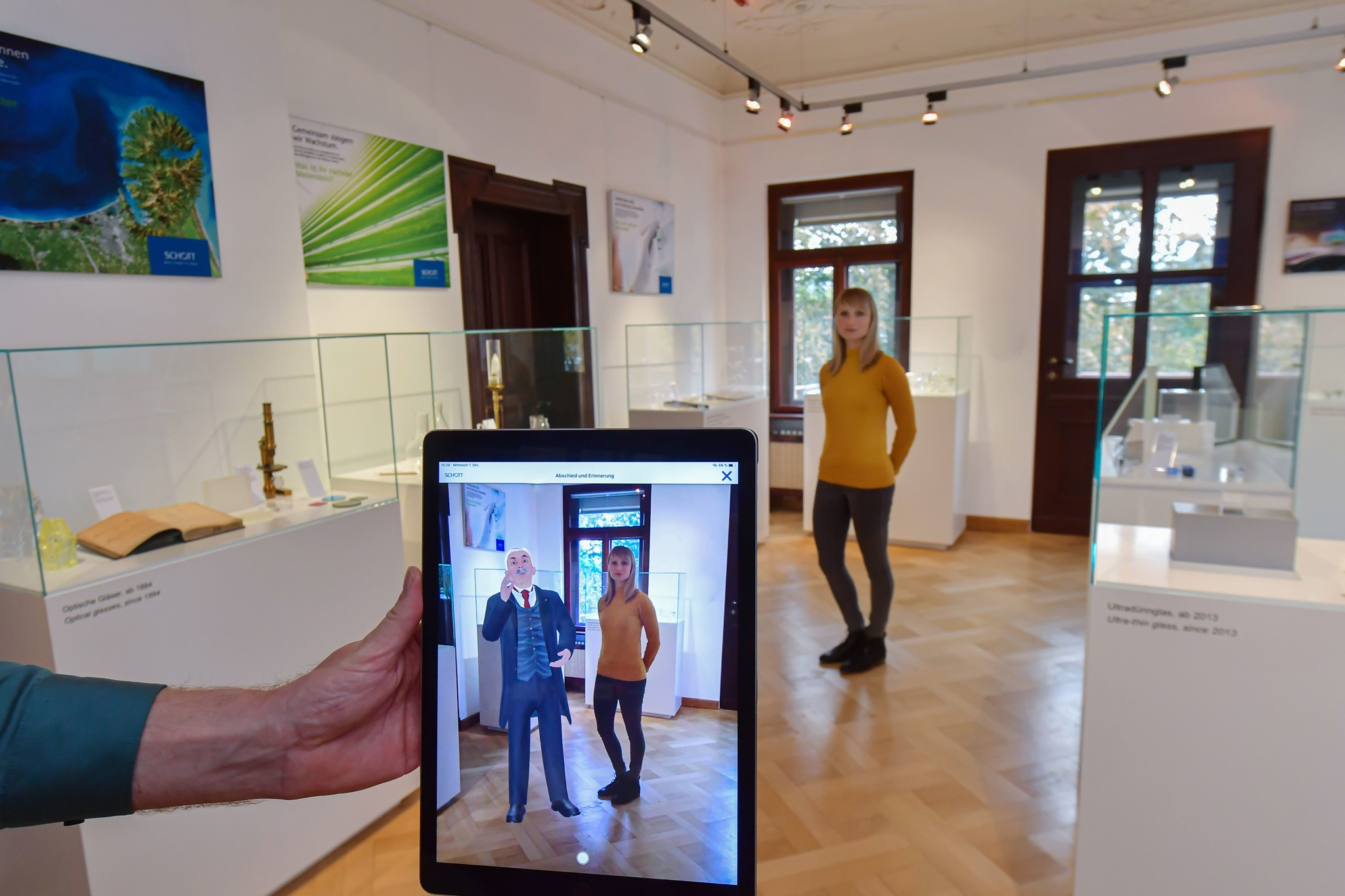 Otto Schott in Augmented Reality