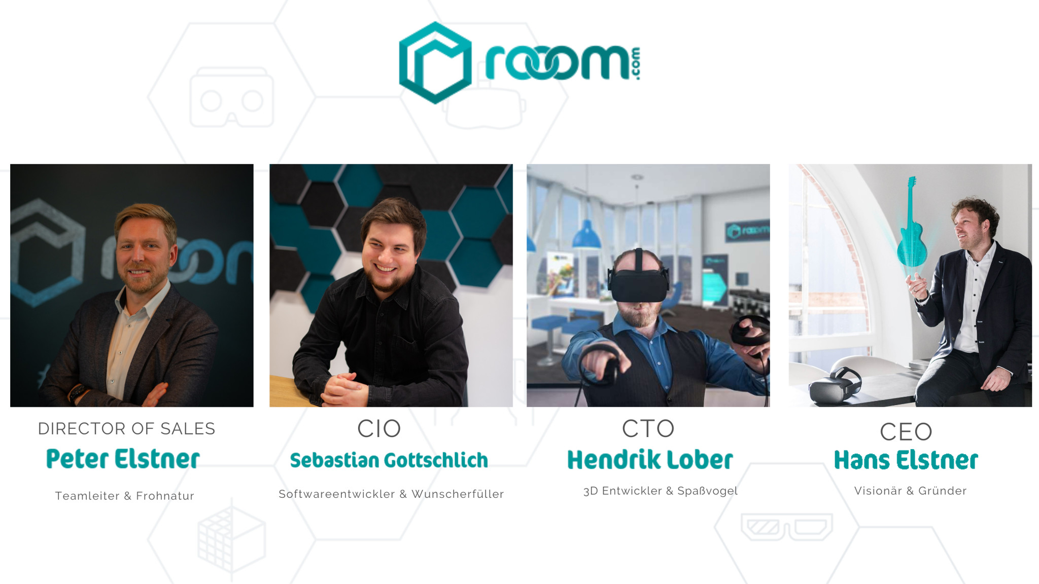 The faces behind rooom