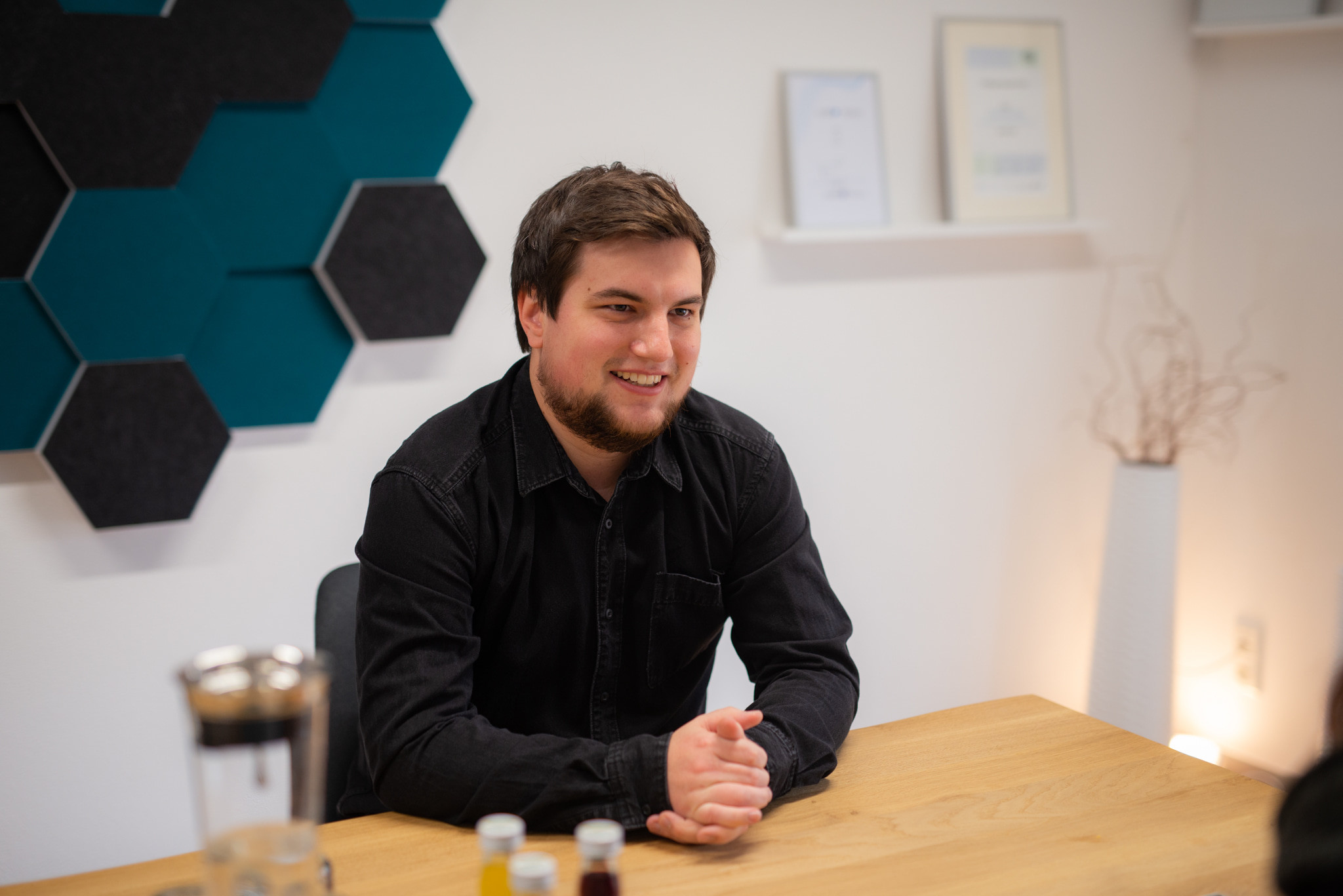Sebastian Gottschlich in rooom office
