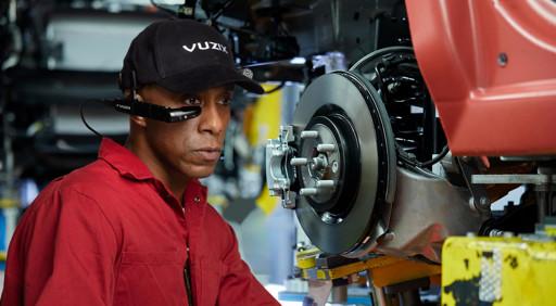 Nutzung von Vuzix Smart Glasses in der Industrie