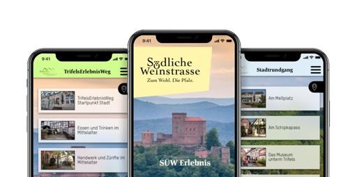 Digitale Tourismus App